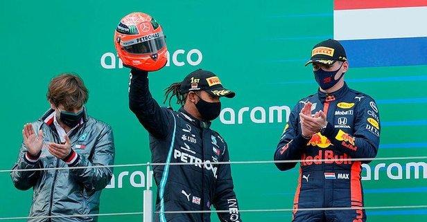 Almanya Grand Prix'sini Hamilton kazandı