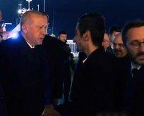 Yusuf Özoğul, Başkan Erdoğan ile bir araya geldi