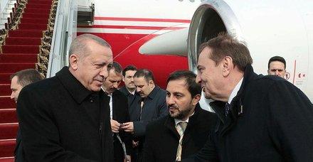 Başkan Erdoğan Rusya'da