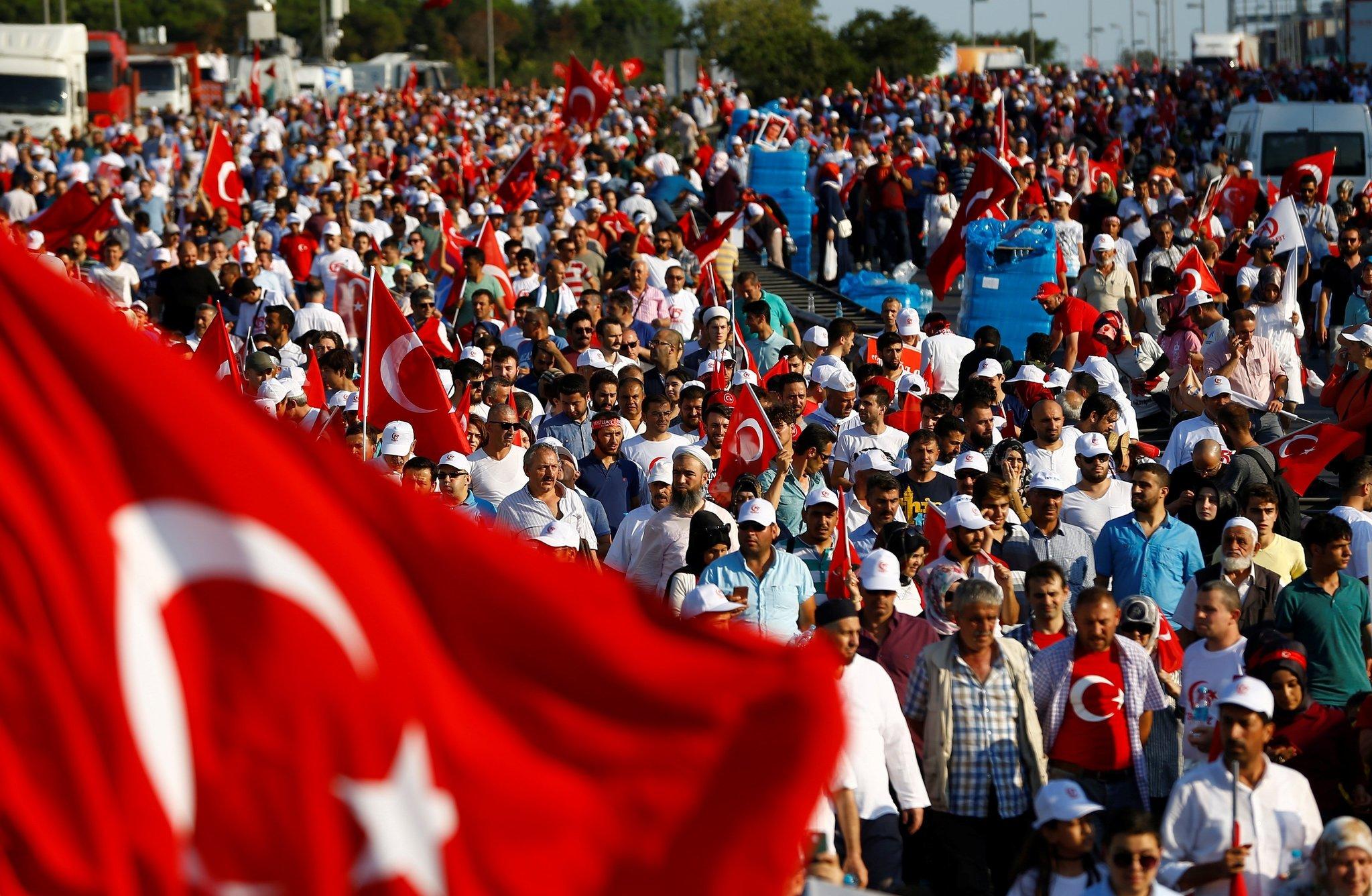 Türkiye meydanlarda tarih yazdı