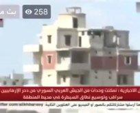 Esad'ın kanalı canlı yayındayken TSK böyle vurdu