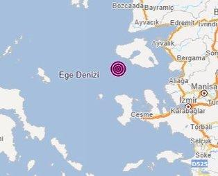 Son dakika! Ege'de korkutan deprem | Son depremler