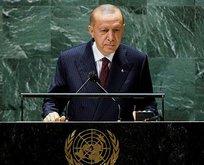 Başkan Erdoğan'dan 'Dünya 5'ten büyüktür' vurgulu iklim krizi mesajı