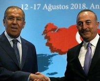 Rusya Dışişleri Bakanı Sergey Lavrov Ankarada
