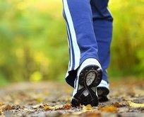 Günde 10 bin adım fıtıktan korunalım
