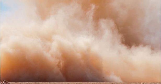 Çöl tozları Trakya'dan girdi! Uzmanı açıkladı...