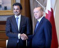 Başkan Erdoğan ve Şeyh Temim'in görüşmesi 3,5 saat sürdü