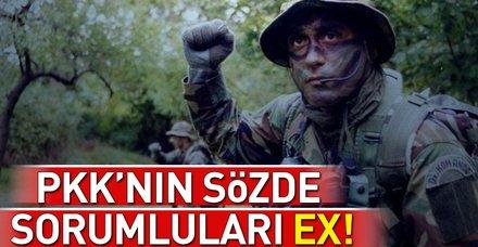 PKK'nın sözde sorumlularına ağır darbe
