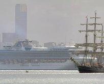 Bir yolcu gemisi daha karantinaya alındı