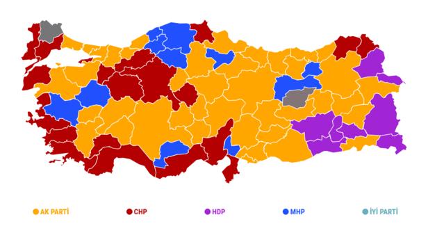 Oy durumu 2019