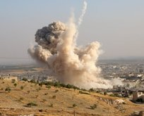 İdlib'de yoğun hava saldırısı! 13 kişi hayatını kaybetti