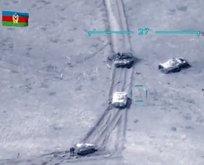 Ermenistan askerleri zırhlı araçları bırakarak kaçtı