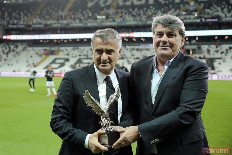Şenol Güneş Beşiktaş'a böyle veda etti!