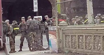 Ordu New York'ta sokağa indi! ABD'de koronavirüs Kovid-19 alarmı