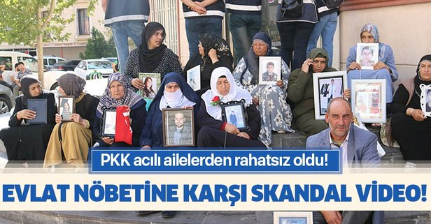 PKK'dan evlat nöbetine karşı hain video planı!
