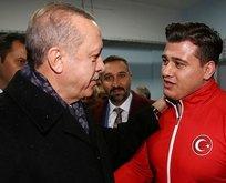 Başkan Erdoğan'dan Rıza Kayaalp'e tebrik