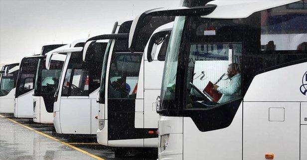 Şehirler arası otobüsler çalışıyor mu?