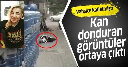 Son dakika: Birgül'ün eski sevgilisi tarafından vurulma anının görüntüleri ortaya çıktı! Vahşice katletmişti