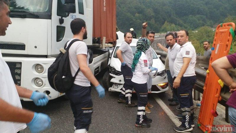Bursa İnegölde korkunç kaza!