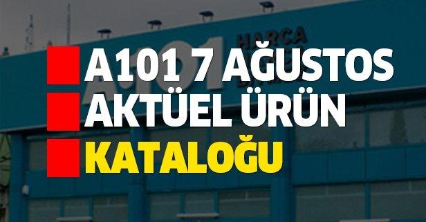 A101 1-7 Ağustos aktüel kataloğu dikkat çekiyor!