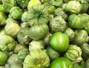 Yeşil domates tomatillonun faydaları