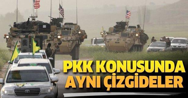 PKK  konusunda aynı çizgideler