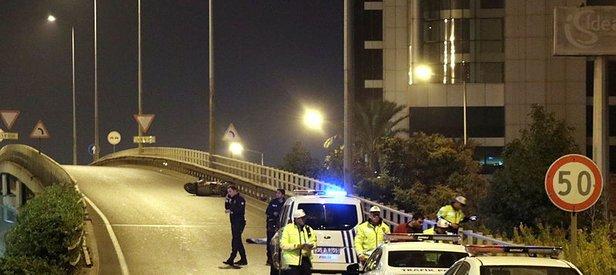 İzmir'de gece yarısı feci kaza! Motosiklet sürücüsü hayatını kaybetti