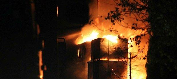 Kocaeli'de geri dönüşüm fabrikasında korkutan yangın!
