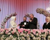 Başkan Erdoğan, nikah şahidi oldu