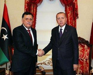 Dolmabahçe'de Libya ile kritik görüşme