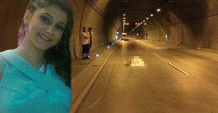 Dolmabahçe Tüneli'nde korkunç kaza! Metrelerce sürüklenen Buse hayatını kaybetti