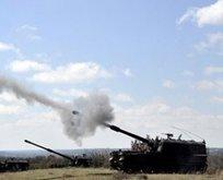TSK Suriye'de YPG'yi bombaladı