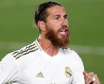 Rekor artık Ramos'un