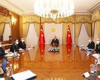 Başkan Erdoğan'dan önemli toplantı