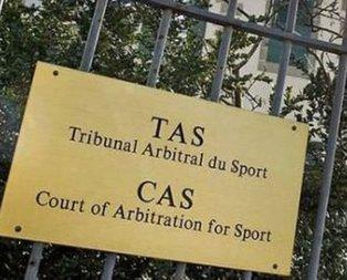 CAS'tan tarihi şike kararı! 10 yıl men edildi