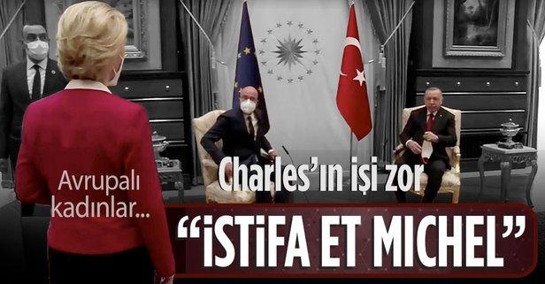 Michel istifa etmeli