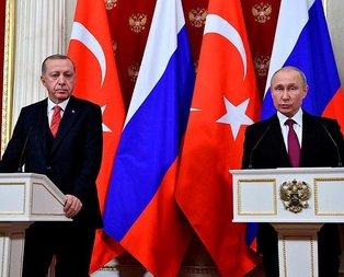 Erdoğan ve Putin'den güvenli bölge açıklaması