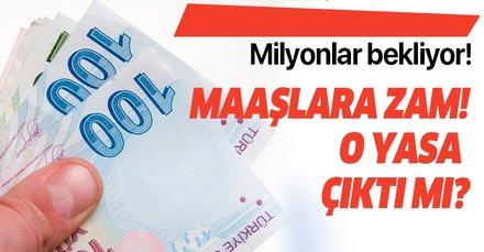 22 Temmuz emekli maaşı intibak yasası son durum! SGK SSK ve Bağkur için emekli intibak yasası çıktı mı?