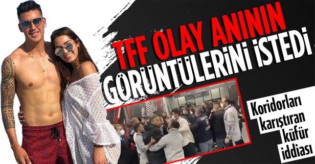 SON DAKİKA: TFF Beşiktaş-Karagümrük maçı sonrası çekilen görüntüleri istedi