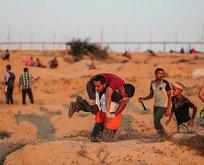 İsrail askerleri Gazze sınırında 5 Filistinliyi şehit etti