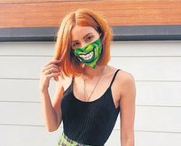 Zeynep maske sever!