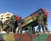 Hamas'tan İsrail'e gövde gösterisi!