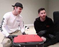 Kayıp bavuldan bakın neler çıktı!
