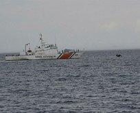 İzmir Dikili'de 45 sığınmacı kurtarıldı