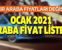 Sıfır otomobil fiyat listesi: Ocak 2021 Ford, Dacia, Fiat, Volkswagen, BMW, Opel sıfır araba fiyatları ne kadar oldu?