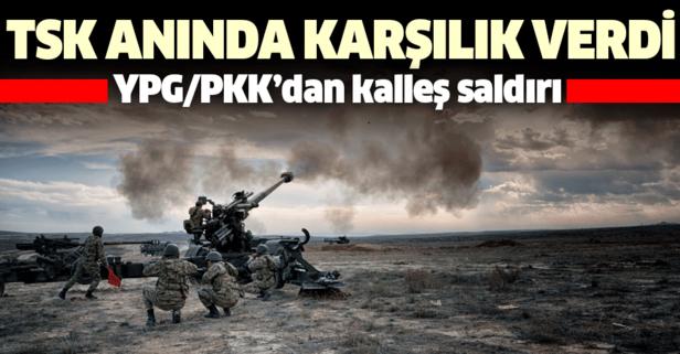 YPG/PKK Azez'deki sivillere saldırdı