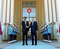 Başkan Erdoğandan Katara teşekkür mesajı