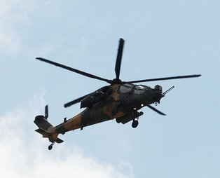 51'inci ATAK T129 helikopteri TSK'ya teslim edildi