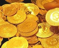 Gram altın yüzde 8.4 geriledi