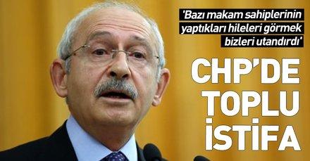 CHP Gençlik Kolları'nda toplu istifa!